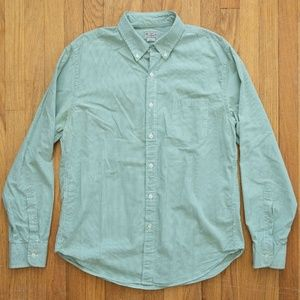 J Crew Checked Long Sleeve Button Front Shirt L